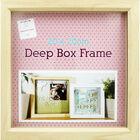 Natural Deep Box Frame - 20cm x 20cm image number 2