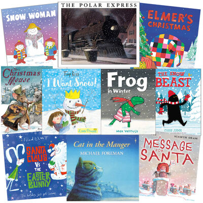 I Want Snow: 10 Kids Picture Books Bundle image number 1