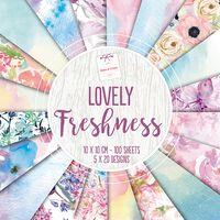 Lovely Freshness Design Pad: 10 x 10cm