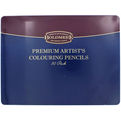 Boldmere Premium Artists Colouring Pencils: Set of 30 image number 1