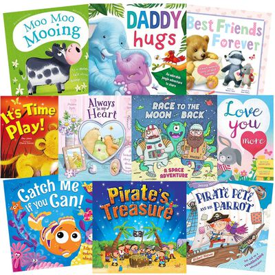 Story-Time Fun: 10 Kids Picture Books Bundle image number 1