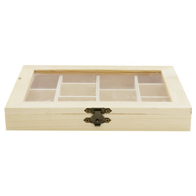 Wooden Compartment Box image number 3