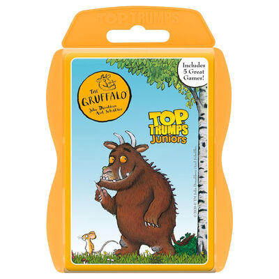The Gruffalo Junior Top Trumps image number 1