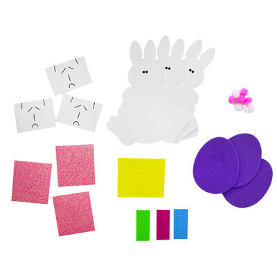 Make Your Own Foam Bunnies - Makes 3 image number 2