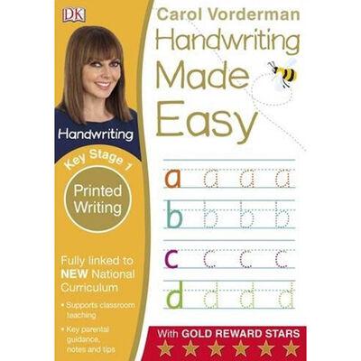 DK Handwriting Made Easy: Printed Writing image number 1