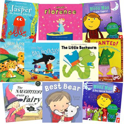 Little Reads: 10 Kids Picture Books Bundle image number 1