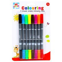 Double Ended Markers - Pack of 8