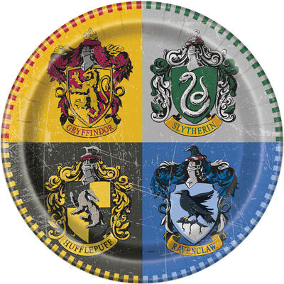 Harry Potter Paper Plates - 8 Pack image number 1