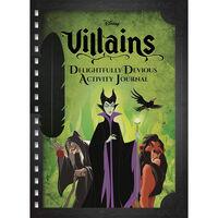 Disney Villains Delightfully Devious Activity Journal
