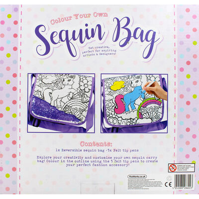 Colour Your Own Sequin Bag image number 4