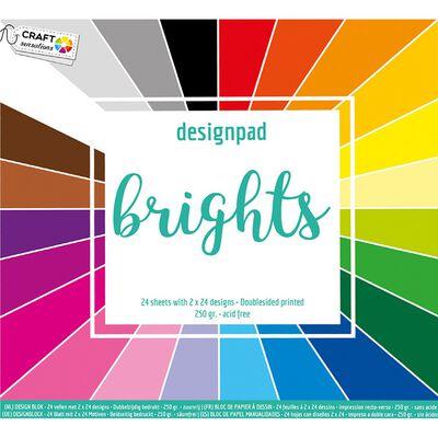 Colour Spectrum Paper Pad - 30cm x 30cm - Assorted image number 2