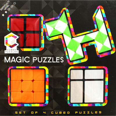 Magic Cubed Puzzles - Set of 4 image number 2