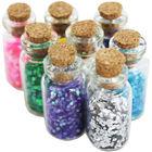 Mini Glitter Craft Jars - Set Of 8 image number 1