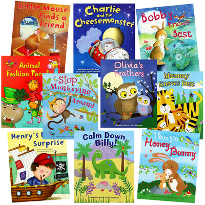 Exciting Stories: 10 Kids Picture Books Bundle image number 1