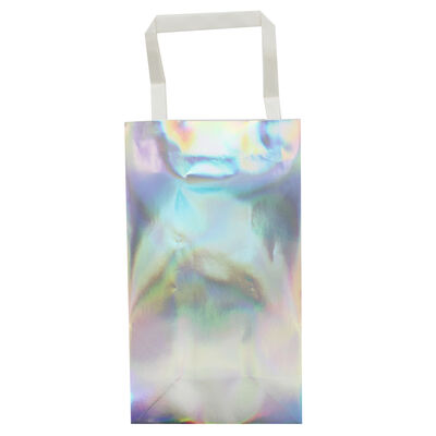 Iridescent Foil Party Bags - 5 Pack image number 2