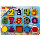 Chunky Wooden Puzzle Numbers image number 1