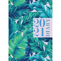 A5 Fern 2021 Day a Page Diary