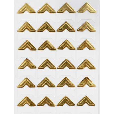 Dovecraft Essentials Photo Corners - Gold - 24 Pieces image number 2