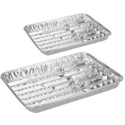 Aluminium BBQ Barbecue Foil Trays image number 2