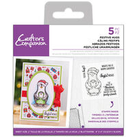 Acrylic Stamp Set: Festive Hugs