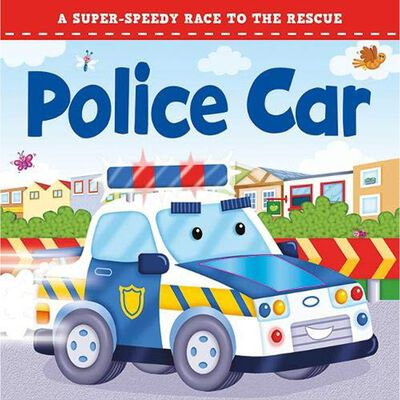 Police Car Touch And Feel Book image number 1