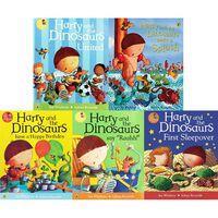Dinosaurs & Friends: 10 Kids Picture Books Bundle