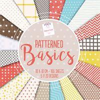 Patterned Basics Design Pad: 10 x 10cm