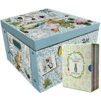 Peter Rabbit Library and Floral Collapsible Storage Box Bundle