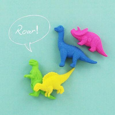 Mini Novelty Erasers Pack: Blue image number 3