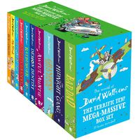 David Walliams The Terrific Ten: Mega-Massive Box Set