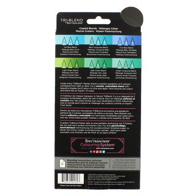Spectrum Noir TriBlend - Coastal Blends - 6 Pack image number 2