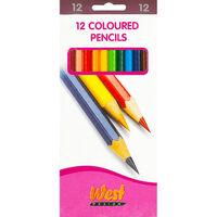 Colour Pencils - 12 Pack