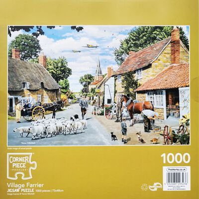 Village Farrier 1000 Piece Jigsaw Puzzle image number 3