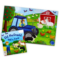 Old MacDonald had a Farm 28 Piece Musical Floor Jigsaw Puzzle