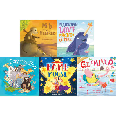 Day at the Zoo: 10 Kids Picture Books Bundle image number 2