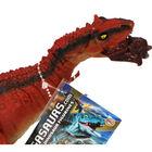 Red Tyrannosaurus Rex Dinosaur Figurine image number 2