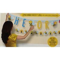 What Will It Bee Baby Shower Jumbo Letter Banner Kit