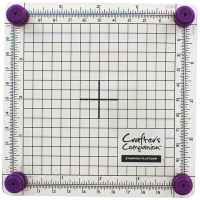 Crafters Companion Stamping Platform - 4x4 Inch image number 3