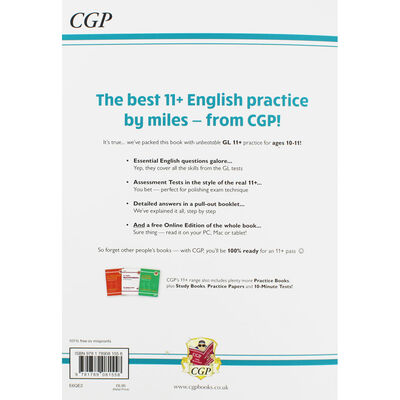CGP 11+ English: Practice Book with Assessment Tests image number 3