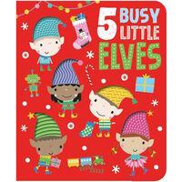 5 Busy Little Elves Board Book