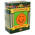 Orange Smiley Face Space Hopper image number 1