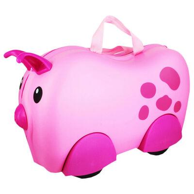 Pig Kiddee Case - Kids Travel Case image number 1