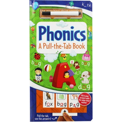 Phonics: A Pull-the-Tab Book image number 1