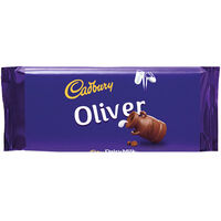 Cadbury Dairy Milk Chocolate Bar 110g - Oliver