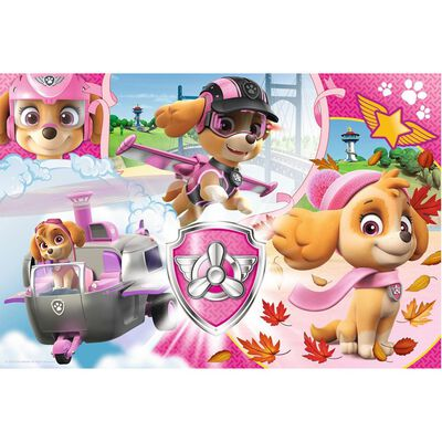 100 Piece Paw Patrol Sky In Action Jigsaw Puzzle image number 2