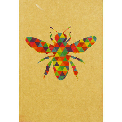 A5 Kraft Bee Lined Notebook image number 1
