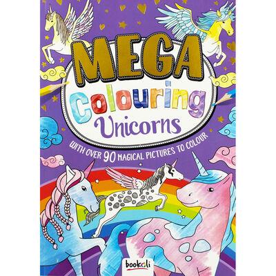 Mega Colouring Unicorns image number 1