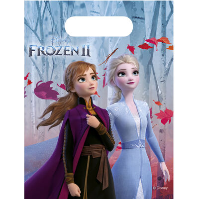 Disney Frozen 2 Party Bags - 6 Pack image number 1
