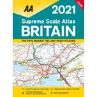 AA Supreme Scale Atlas 2021: Britain image number 1