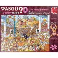 Wasgij Destiny 4 Retro 1000 Piece Jigsaw Puzzle